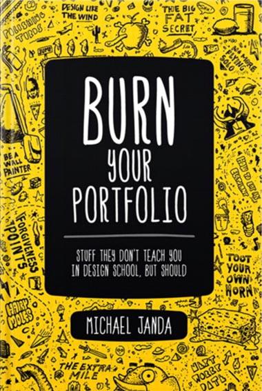 Burn Your Portfollio - book recommendation by Lisa Galea