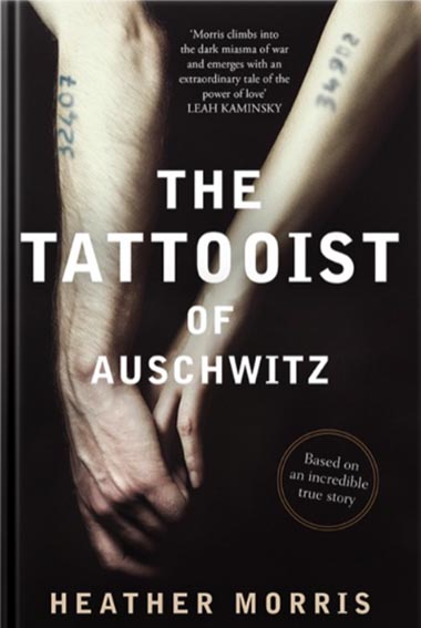 the Tattooist of Auschwitz - Book Recommendation by Lisa Galea